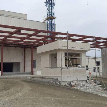 احداث بیمارستان ۶۴ تختخوابی مراوه تپه