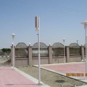 احداث پارک شادی شهرستان قلعه گنج کرمان