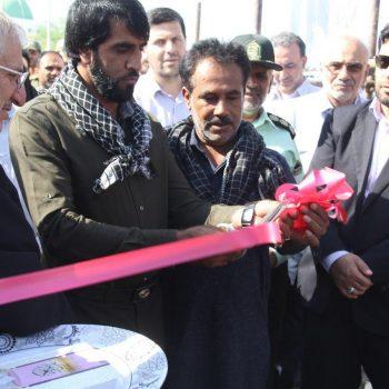 افتتاح تعدادی از پروژههای بنیاد مستضعفان در قلعه گنج کرمان