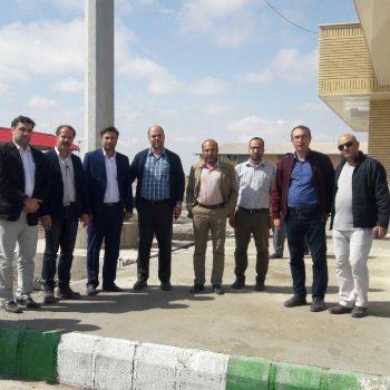 تحویل موقت پروژه احداث ساختمانهای رفاهی شلمچه