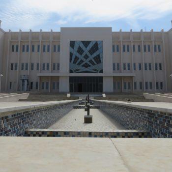 تکمیل ساختمان مرکز فرهنگی اداری سازمان منطقه آزاد اروند