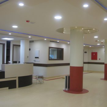بیمارستان ساسان- بازسازی طبقه ۲( بخش زایمان)