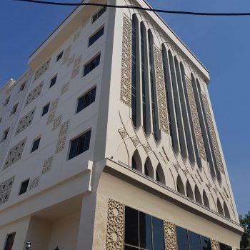 احداث ساختمان مرکزی بیمه سینا بندرعباس