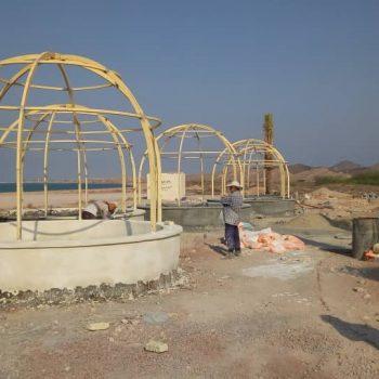 اجرای پروژه پارک فانوس در جزیره لارک